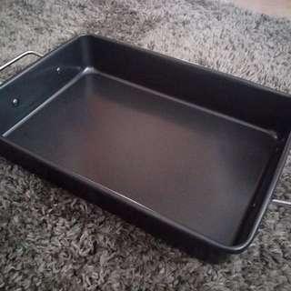 長方形不粘底焗盤 rectangular shape non-stick baking plate