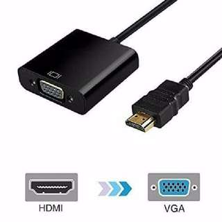 1080P HDMI Male to VGA Female Video Converter