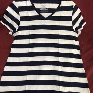 Women's Striped Shirt Plus Size