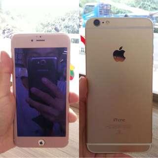 出售iphone 6 plus 16G 金色 可交換安卓手機