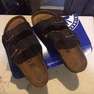 birkenstock arizona sandals (brown) from bangkok
