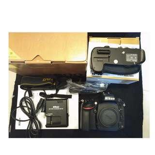 Nikon D600 (公)+ 副廠手把  Nikon D600 + handle