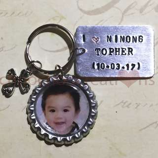 Hand Stamped Baptismal Souvenirs 07