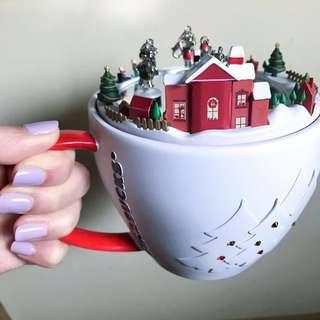 聖誕限定版Starbucks音樂盒(連盒)