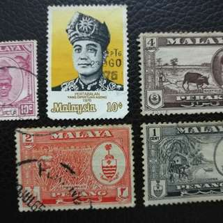 Very uniques and valuables stamps .