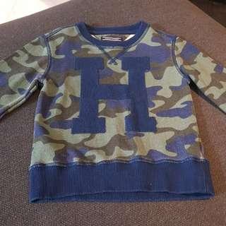 Preloved Authentic Kid Tommy Hilfiger Sweatshirt