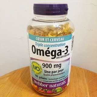 Webber Naturals Omega 3 (900mg)