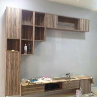 Tv cabinet & rak