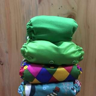 RM70 for all! Green cloth diapers