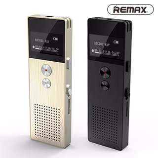 Original Remax Recorder 8GB RP1 Rechargeable Sound/Voice Dictaphone / 13hrs Digital Audio - Gold, Black