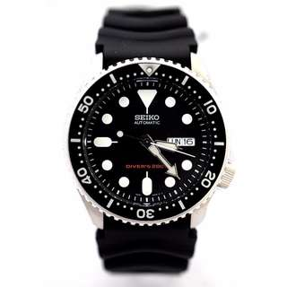 SKX007K1 - NEW MEN'S SEIKO 200M DIVER'S AUTOMATIC 21 JEWELS ANALOG SPORTS WATCH