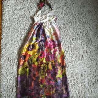ASOS US Size 6 Floral Maxi Dress