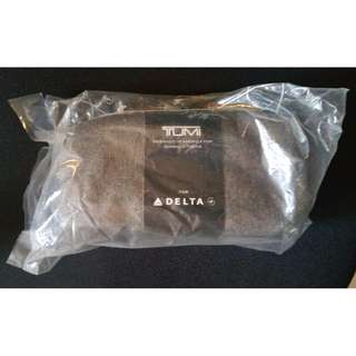 Tumi Delta Airlines Exclusive Business Class Travel Amenity Toiletry Bag Soft Pouch Free Postage