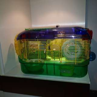 Small Hamster Cage with accessories