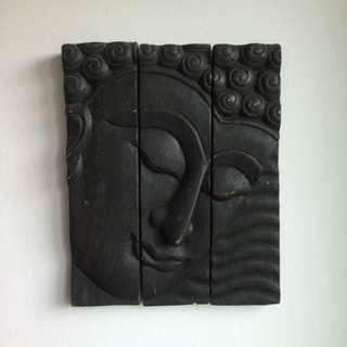 Buddha wooden panels