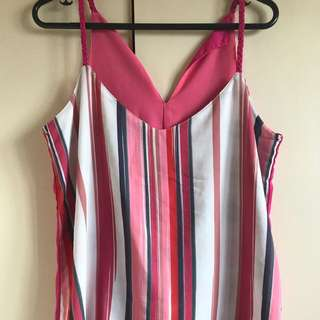 Plains & Prints reversible top