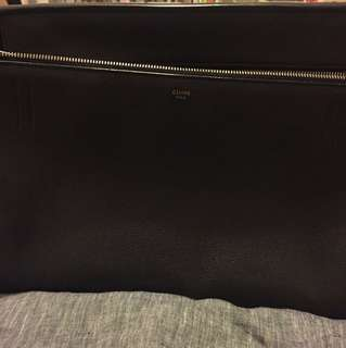 Celine edge black bag