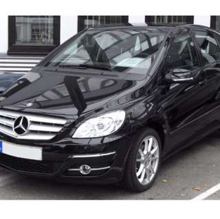 Mercedes B170 For Rent