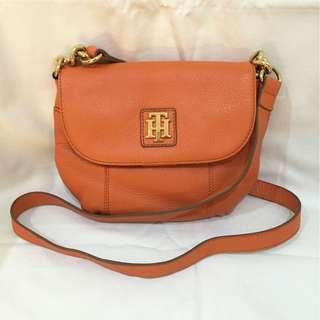 Tommy Hilfiger Orange Crossbody Bag (reduced price!!)