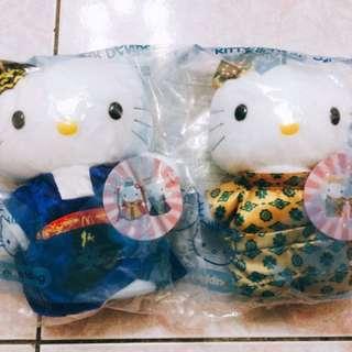 麥當勞Hello kitty 大玩偶 2隻 (不零賣)