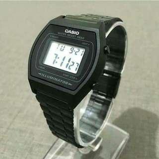 Casio B640 Black Metal Digital