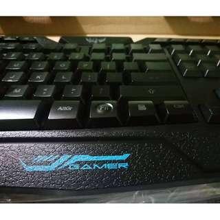 Wireless M200 backlight gaming keyboard
