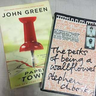 Paper Towns + Perks of Being A Wallflower