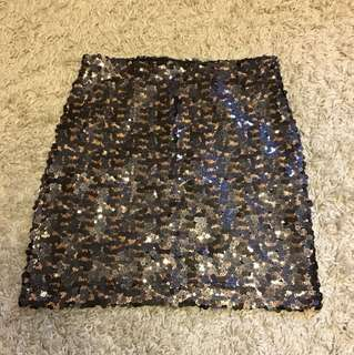 Dynamite Sequin Skirt