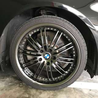 BMW 19inch used rims + tyre
