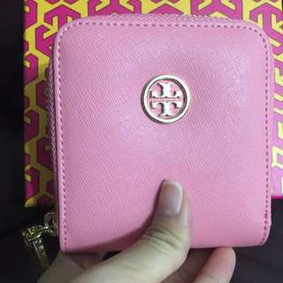 全新Tory Burch 散紙包 銀包 Robinson Mini Zip Coin Case Coin bag