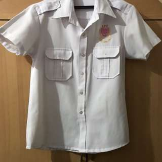 Lyceum uniform cruiseline white