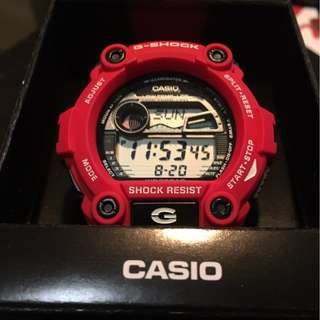Red Casio G Shock Watch