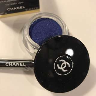 Chanel Longwear Cream Eyeshadow 膏狀眼影 眼影膏 #122 OCEAN LIGHT 寶藍色