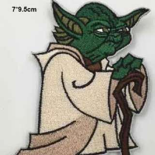 Yoda Embroidery Patch Iron On