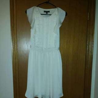 New: Banana Republic Size 0 Cream Dress