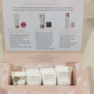 Creme Simon 4 pieces travel kit