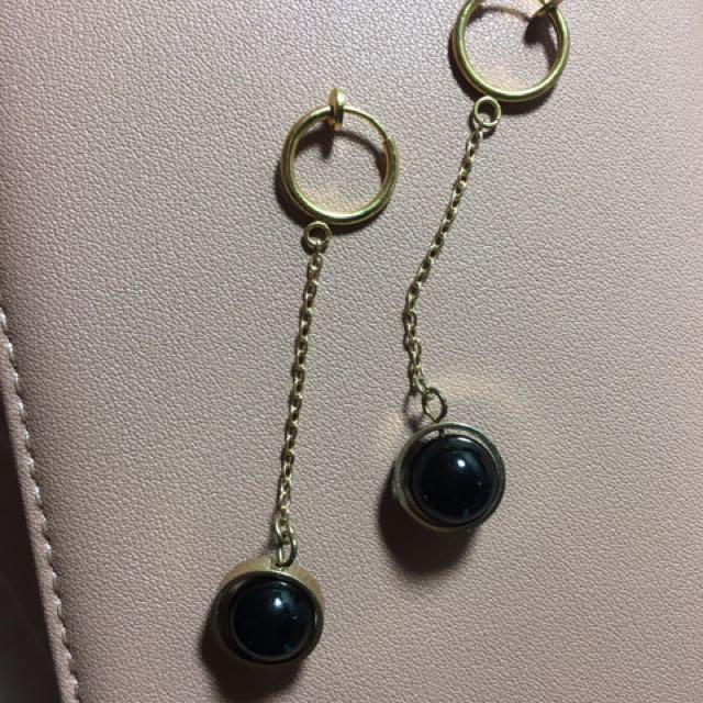 耳個性圓環耳夾
