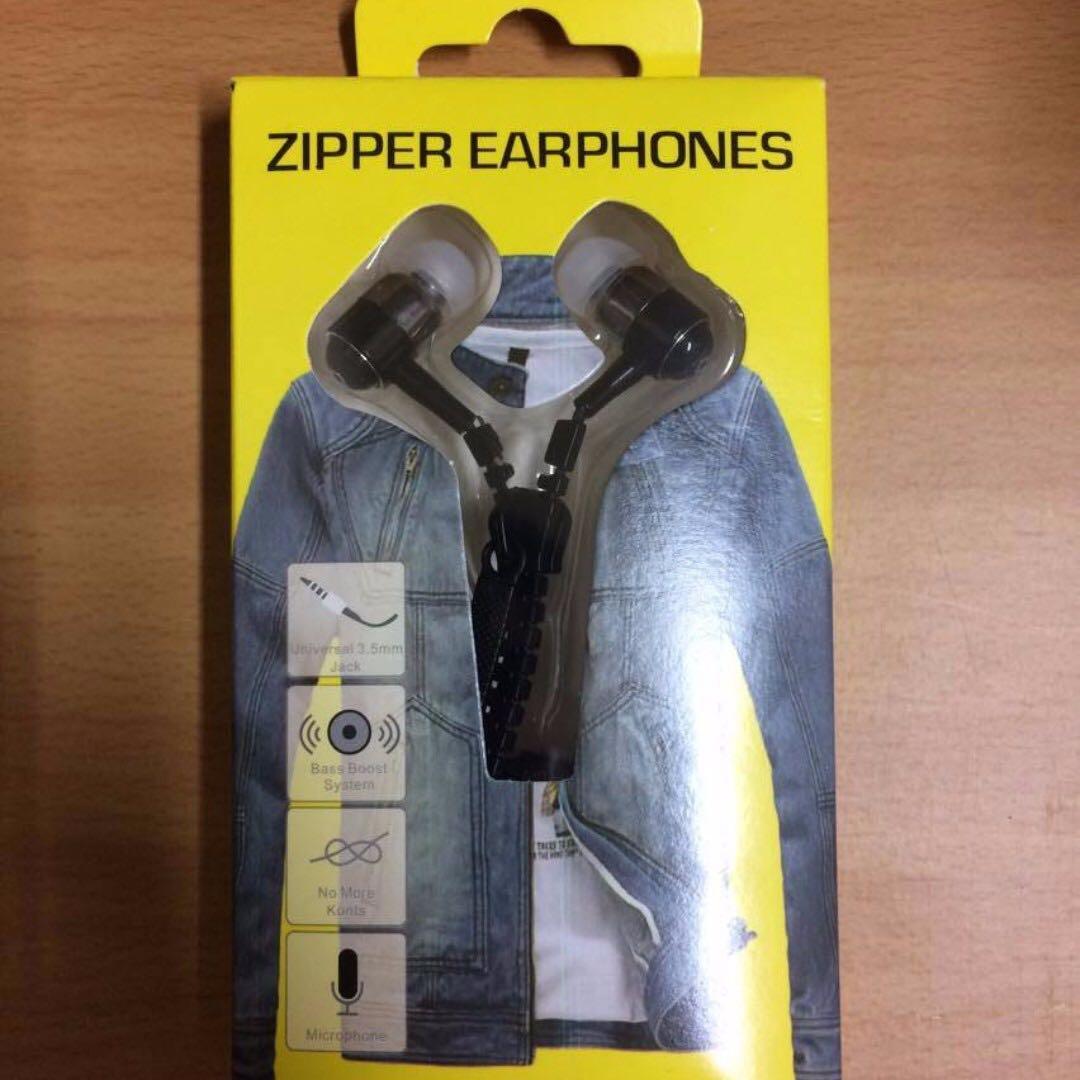 拉鍊造型耳機