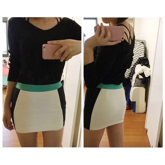 知性簡約合身窄裙
