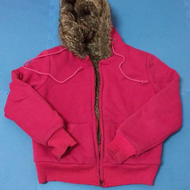 超厚保暖外套