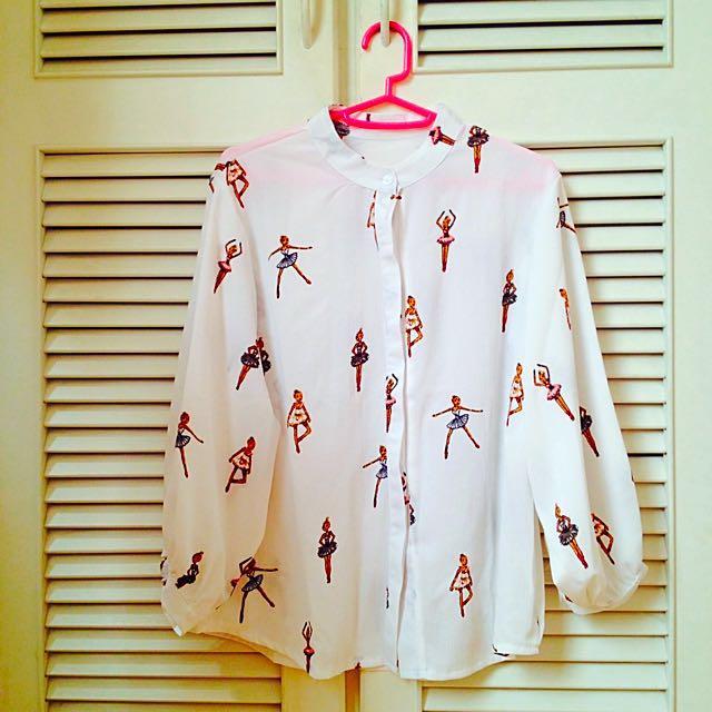芭蕾舞者🎀襯衫