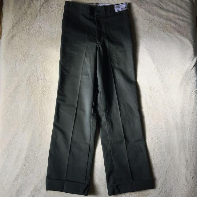 歐洲學生制服褲 古著 庫存新品
