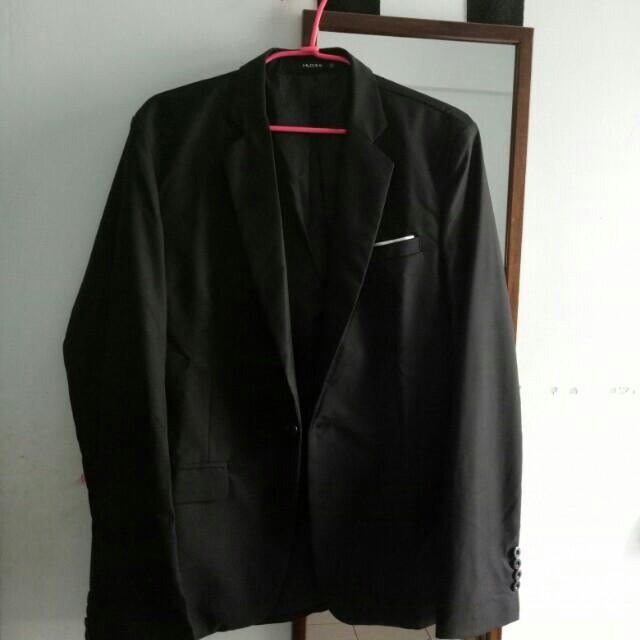 【二手出清】 Muxini春夏冰絲休閒潮流西裝外套
