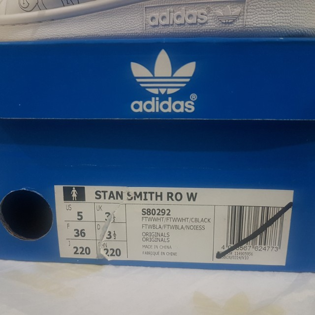 Adidas Originali Stan Smith Rita O Bianco S80292, Preloved Donne