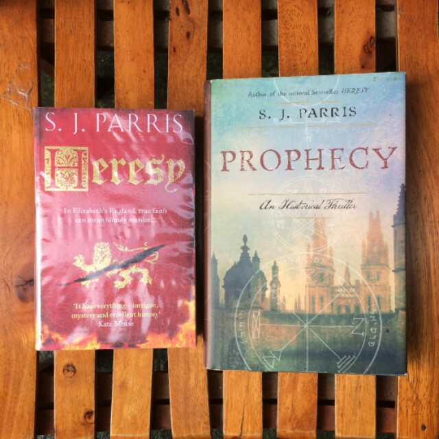 All : Heresy & Prophecy - S.J Parris