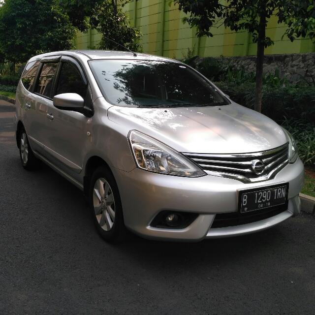 All New Nissan Grand Livina 1.5Xv 2013AT Tdp 15jt siap di Gas