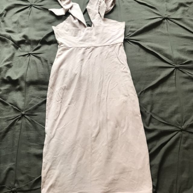 American Apparel bodycon bandeau dress, size S