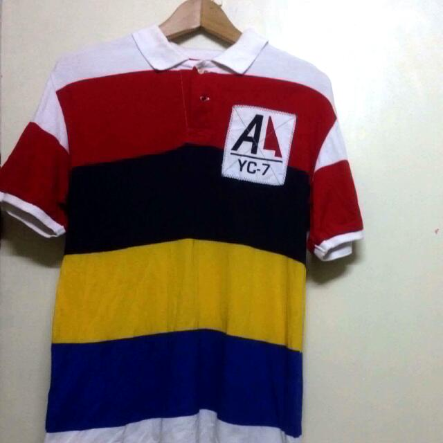 American Living Polo Shirt (Stripes)
