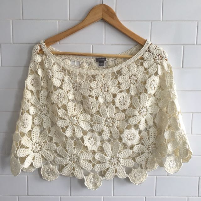 Anne Taylor Lace Cover Up