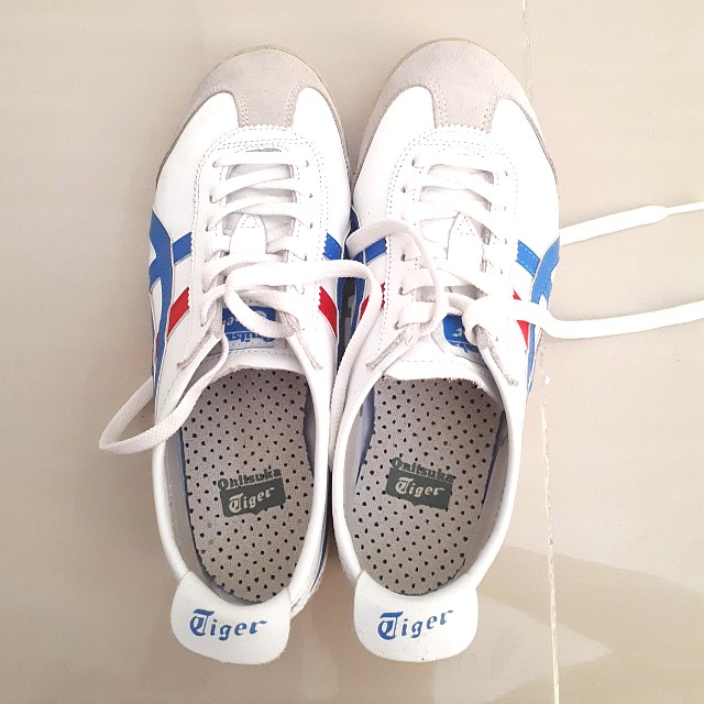 ASICS Onitsuka Tiger Mexico 66 White Blue Red